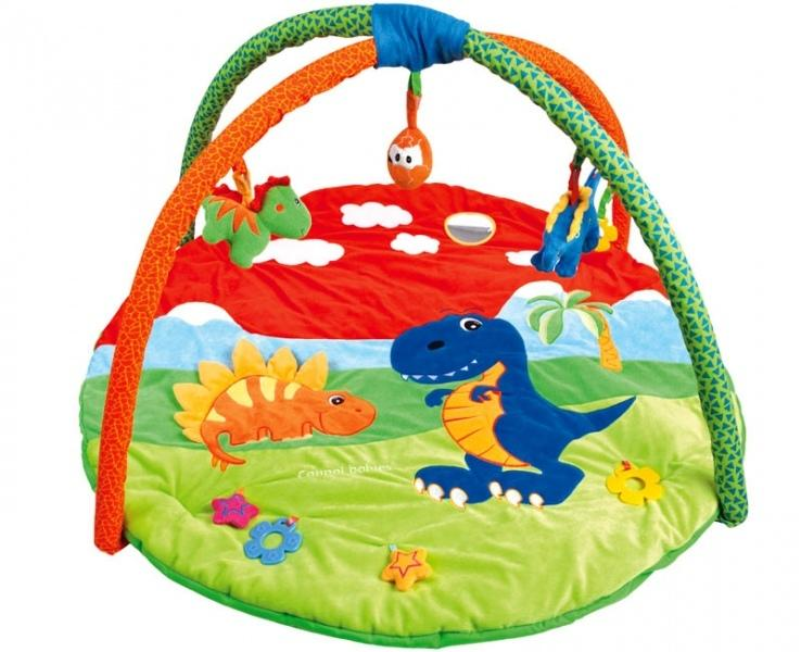 Canpol babies hrací koberec s hrazdičkou DINO