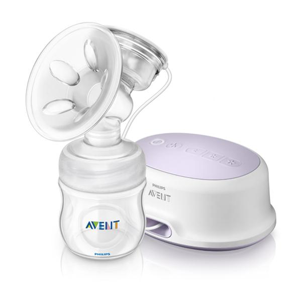 Avent odsávačka mateřského mléka Natural elektronická