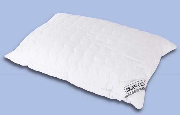 SKANTEX prošívaný polštář 70x90 cm se zipem