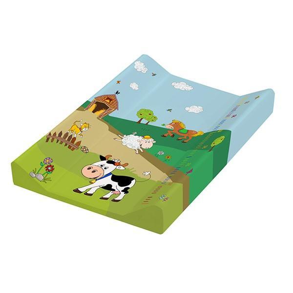 Prima Baby Přebalovací podložka Funny Farm s pevnou deskou