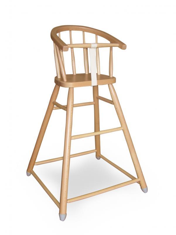 Jídelní židlička L. A. Bernkop Sandra 331717 - bílá