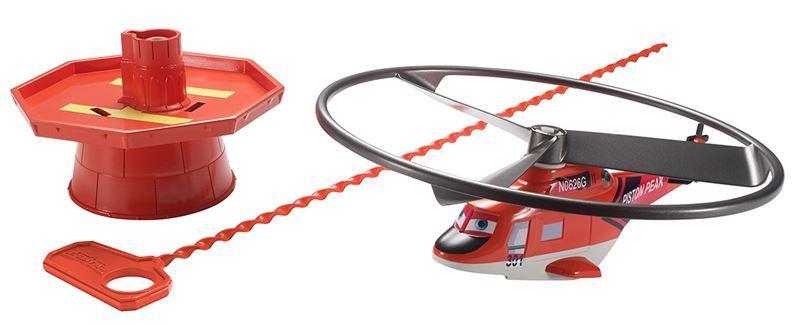 Mattel Planes Letadla s natahovacím lankem