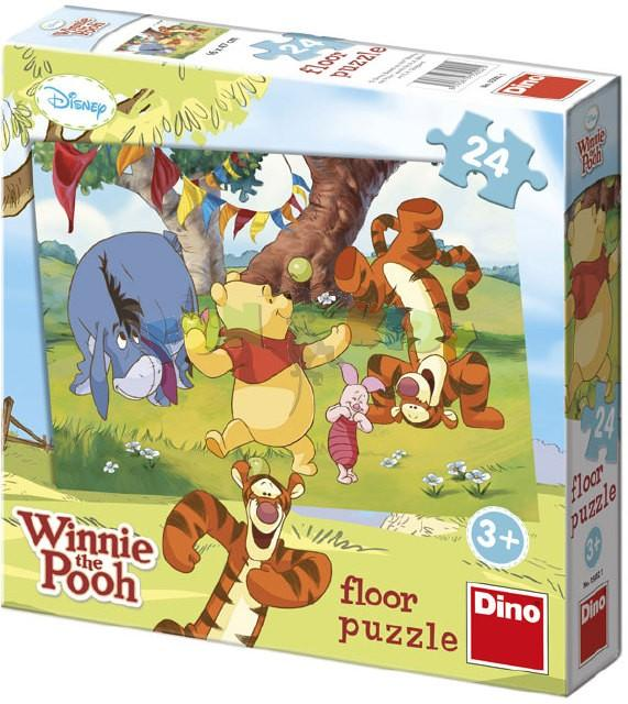 Dino WD Medvídek Pů 24D flor puzzle