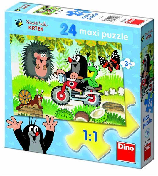 Dino Krteček 24D flor puzzle