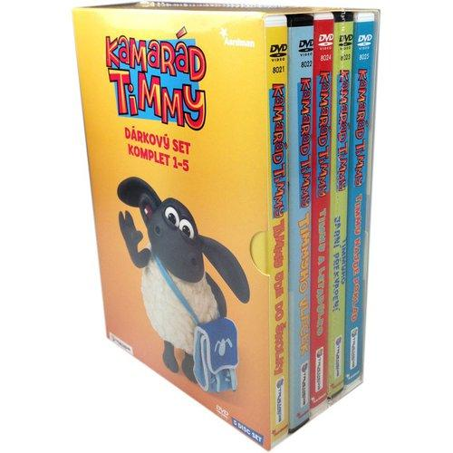 DVD 5pack Timmy 1-5 subr