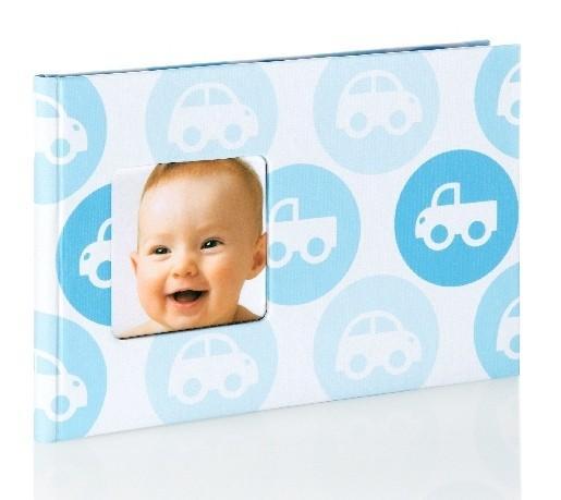 Pearhead Dětské fotoalbum modré (24 foto)