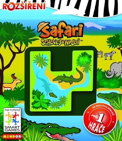 Mindok Smart Games Safari schovej a najdi - rozšíření