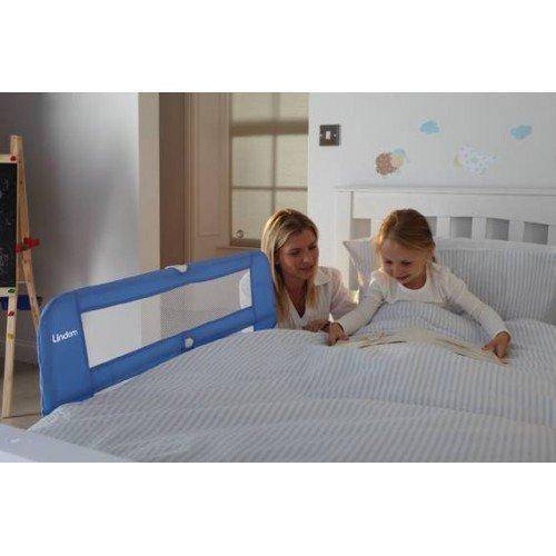 Lindam - Dětská zábrana k posteli modrá