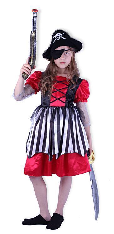Karnevalový kostým pirátka, vel. S