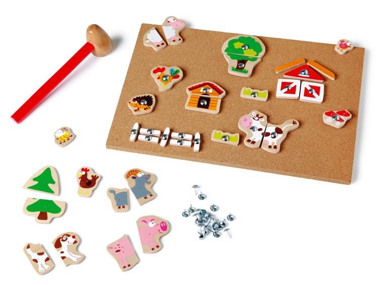 Scratch Zatloukací hračka Farma