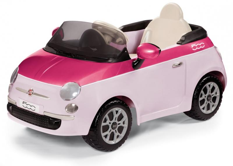 Elektrické vozítko Peg Pérego Fiat 500 Pink
