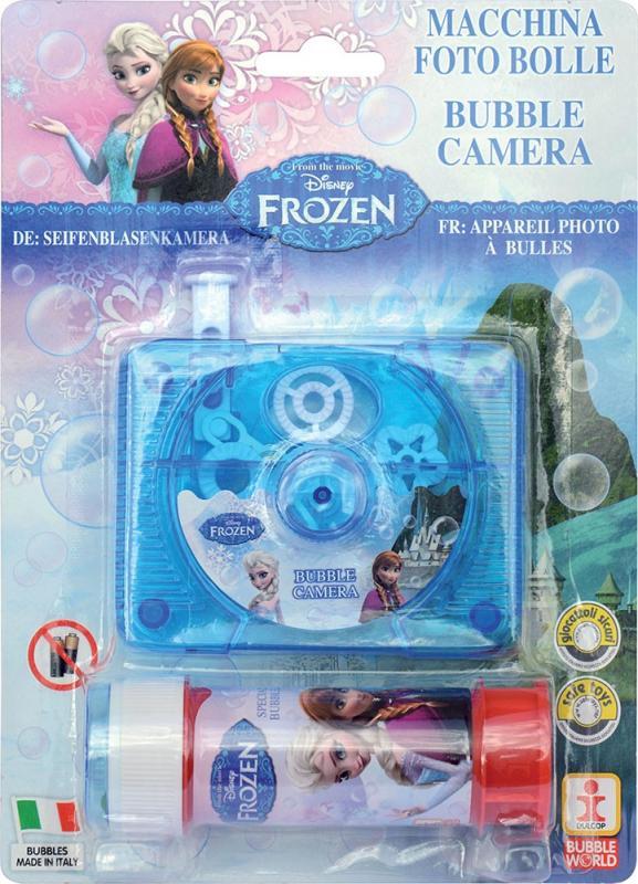 Dulcop Bublifuk foťák Frozen - Ledové království 60 ml