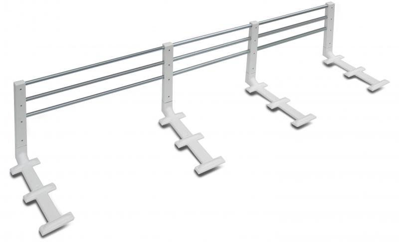 Reer zábrana na postel kovová