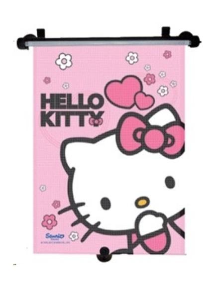 Markas Stínítko na okno auta stahující 1 ks Hello Kitty