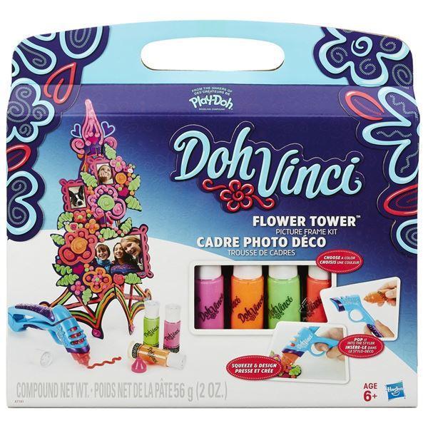 Hasbro Play Doh DohVinci set Dekorativní květinová věž