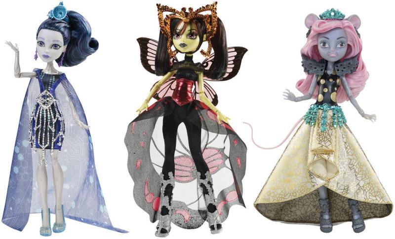 Mattel Monster High Hvězdné příšerky - Ella Eedee