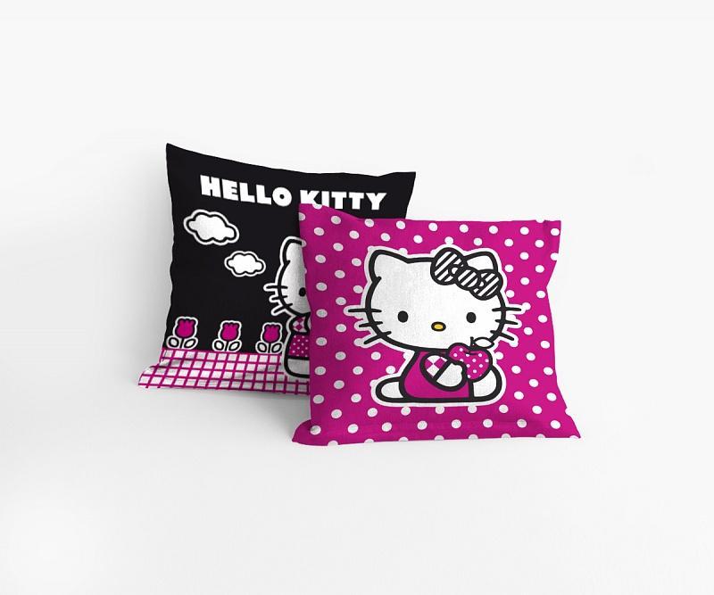 Matějovský povlak na polštářek Hello Kitty Sport 40x40 cm