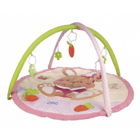 Canpol babies hrací deka hrající s hrazdičkou králíček