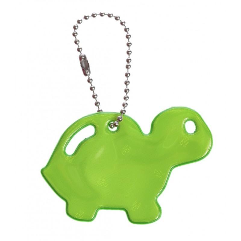 Glimmis reflexní přívěsek želva zelená