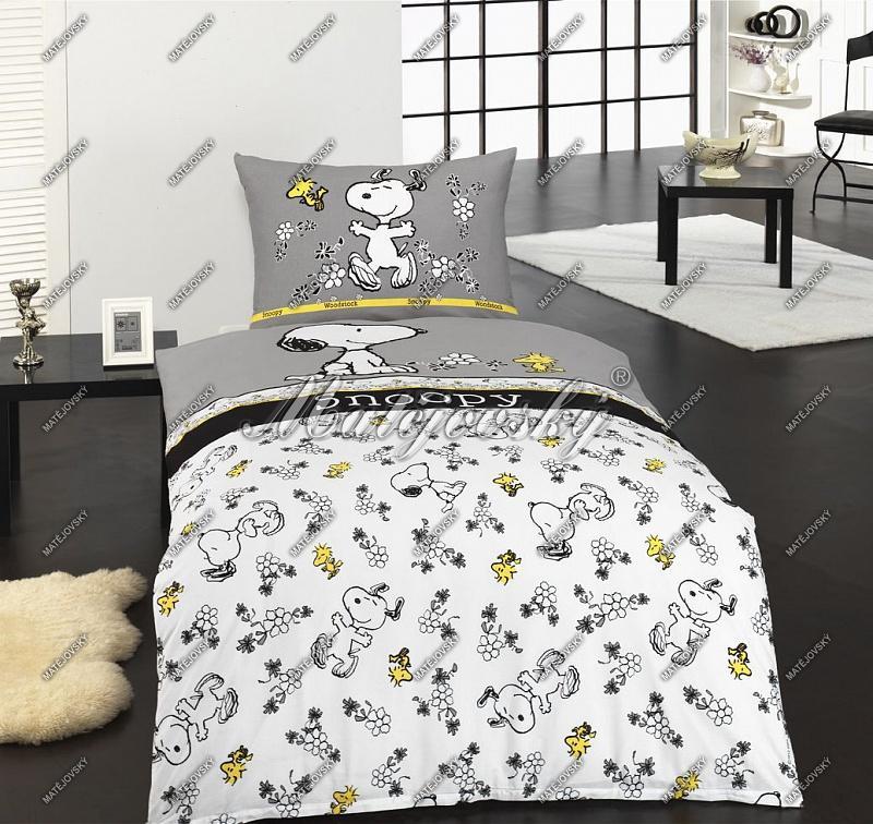 Matějovský Bavlněné povlečení Snoopy Spirit 140x200 cm