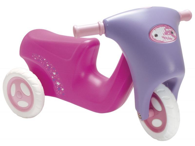 Scarlett dětské odrážedlo moped 50 růžové