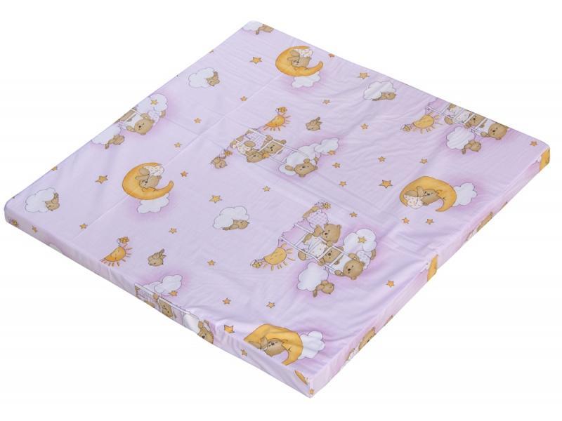 Scarlett Hrací deka do ohrádky Bella - Mráček růžová