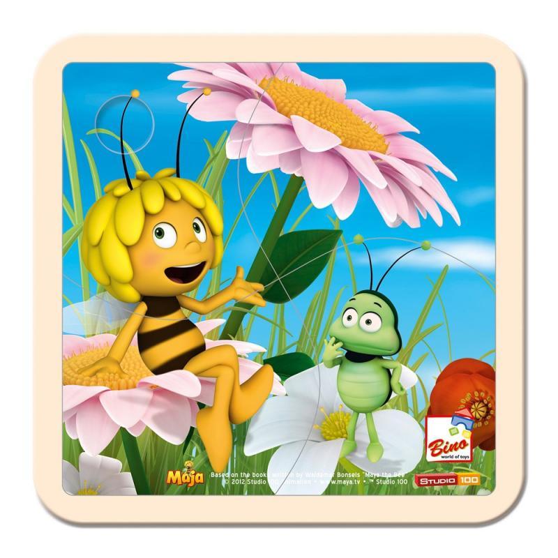 Bino Dětské puzzle - Včelka Mája a cvrček