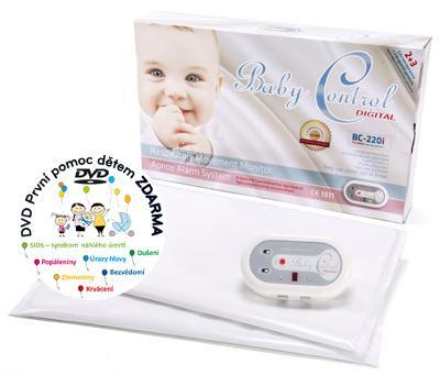 Baby Control Digital 220i Monitor dechu pro dvojčata