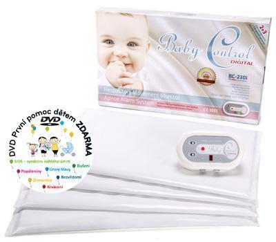 Baby Control Digital 230i Monitor dechu pro dvojčata