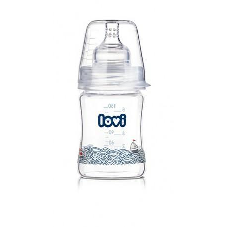 LOVI láhev Diamond Glass 150ml Marine