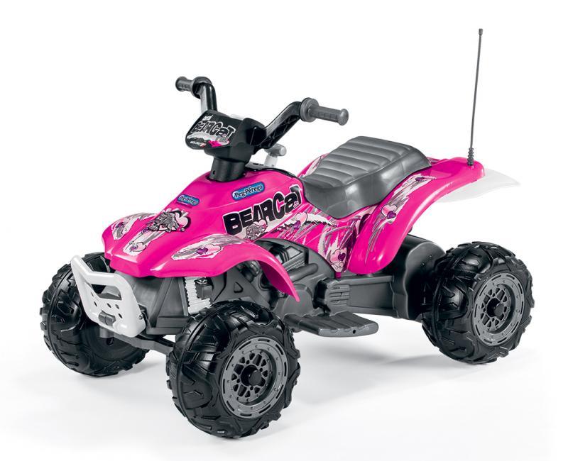 Elektrické vozítko Peg Pérego Corral BearCat Pink