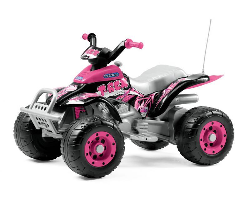 Elektrické vozítko Peg Pérego Corral T-Rex Pink