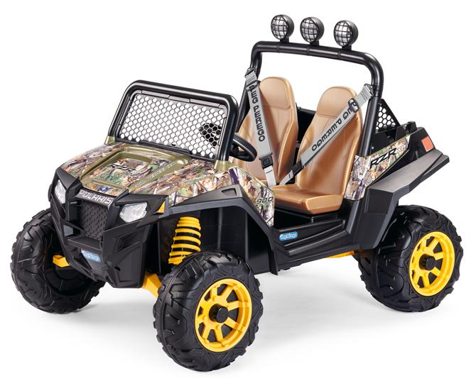 Elektrické vozítko Peg Pérego Polaris Ranger RZR 900 Camouflage