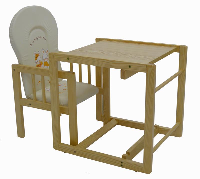Jídelní židlička Depemo Tomi Konrád IV. přírodní