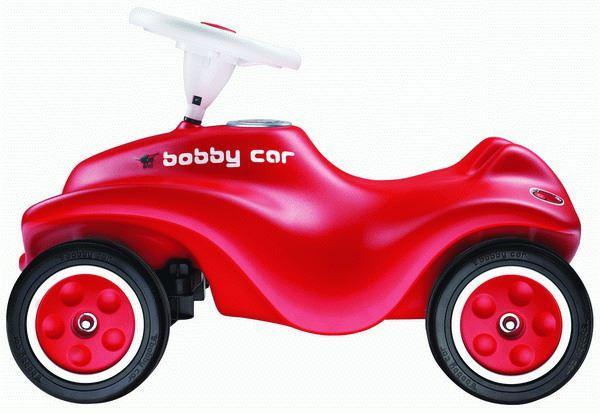BIG Auto odstrkovadlo NEW BIG BOBBY CAR červené