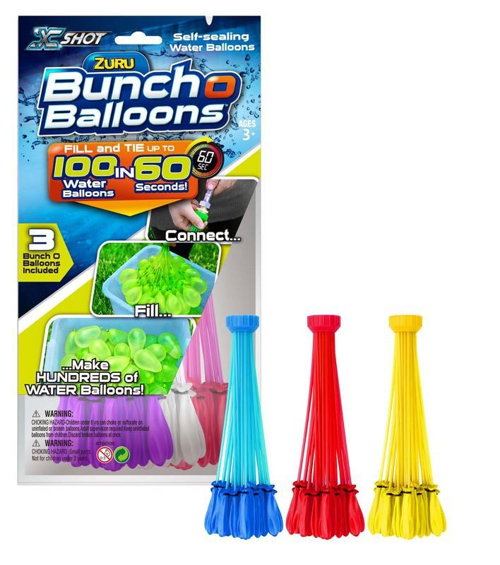 ADC Blackfire Zuru Vodní balónková bitva - vodní balónky 3 pack - fialová