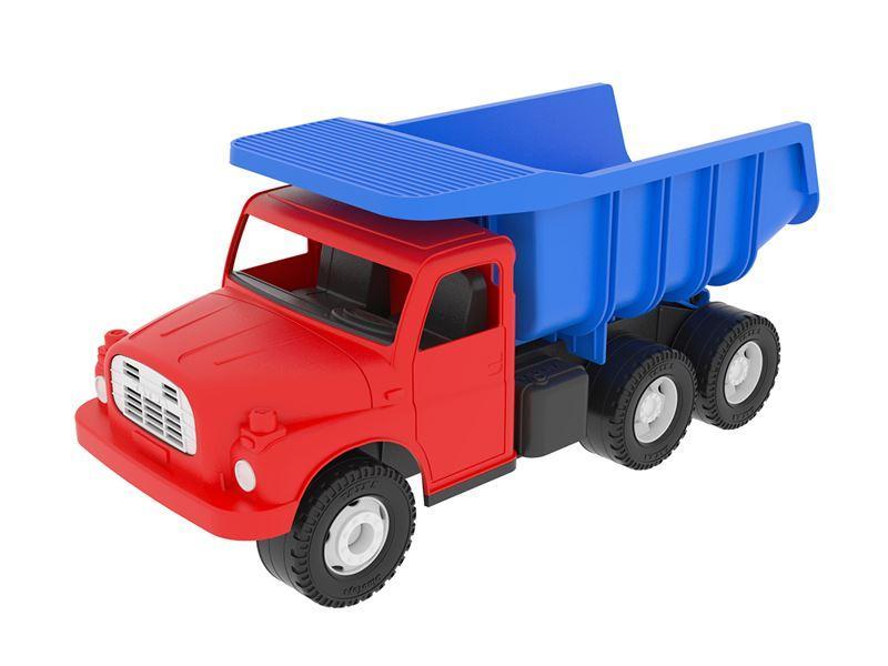 Dino auto Tatra 148 červeno-modrá, plastová 30 cm