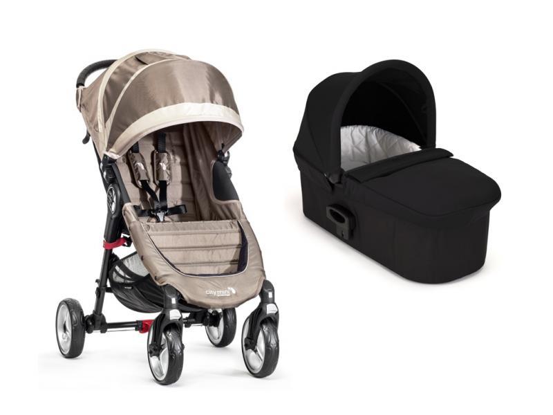 Kočárek Baby Jogger City Mini 4 kola s hlubokou korbou Deluxe 2017