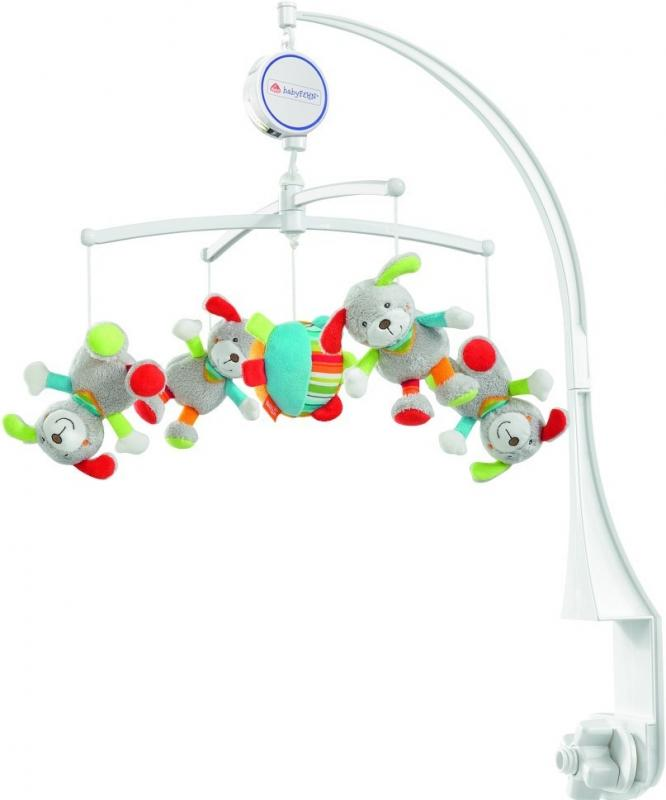 Fehn Holiday hrací kolotoč pejsci/míč