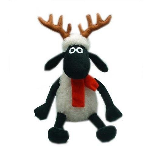 Shaun the Sheep - Ovečka Shaun s parohy a šálou