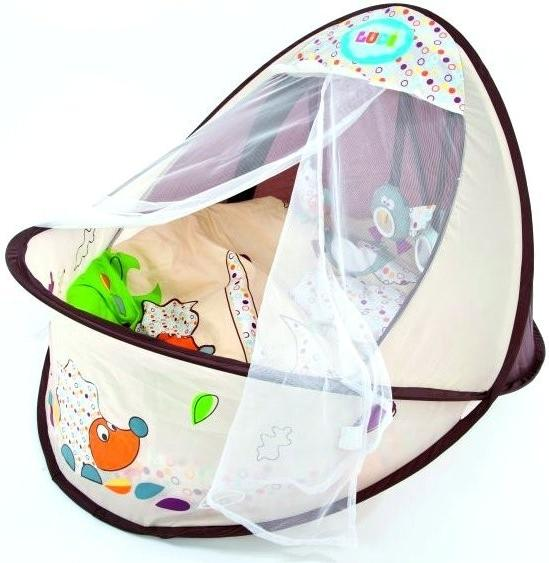 Ludi Cestovní postýlka/hnízdo pro miminko Ludi Nature