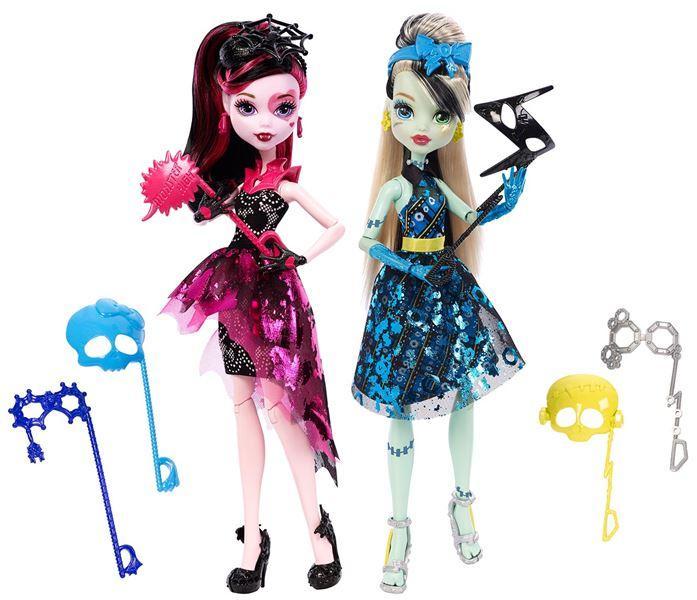 Mattel Monster High Monsterka s doplňky do fotokoutku - Draculaura
