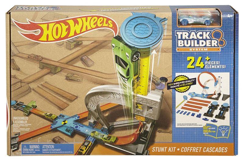 Hot Wheels Track Builder Dráha pro lišácké kousky