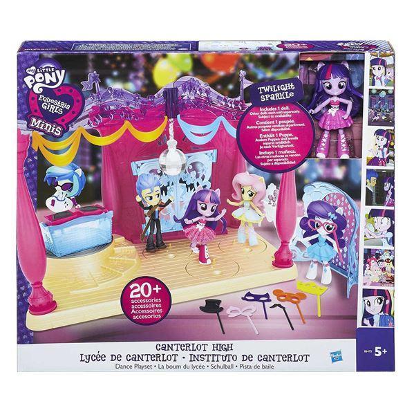 Hasbro My Little Pony Equestria girls Malé panenky hrací set