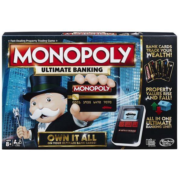 Hra Monopoly Elektronické bankovnictví