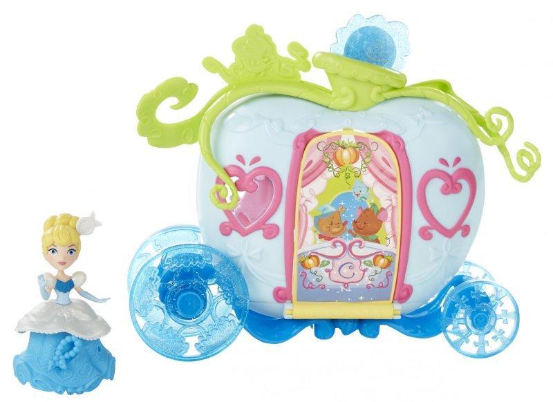 Hasbro Disney Princess Mini hrací set s panenkou - Cinderella
