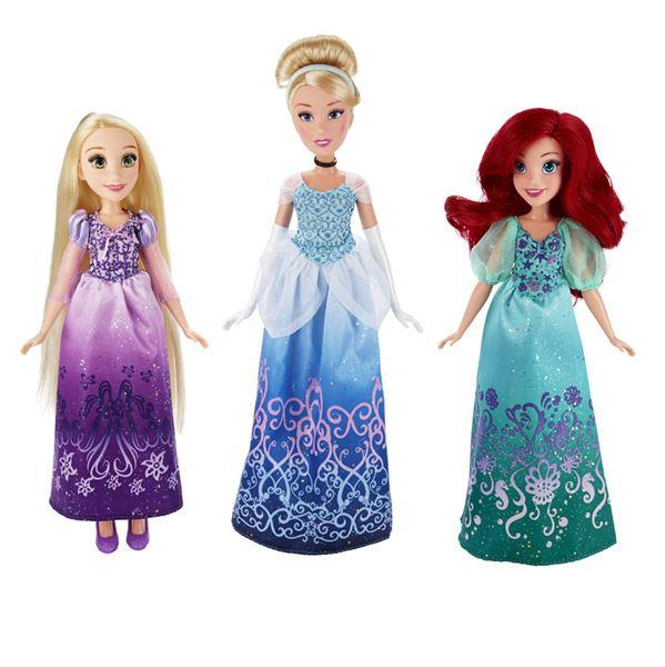 Disney Princess Ariel, Popelka, Locika - Locika
