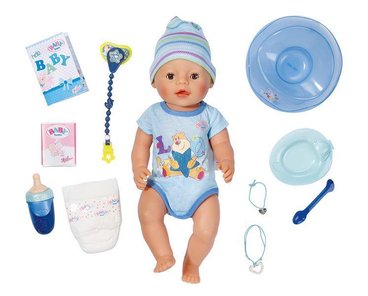 Zapf Creation Interaktivní Baby born, chlapec