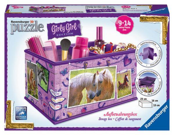 Ravensburger Úložná krabice Kůň 3D 216 dílků