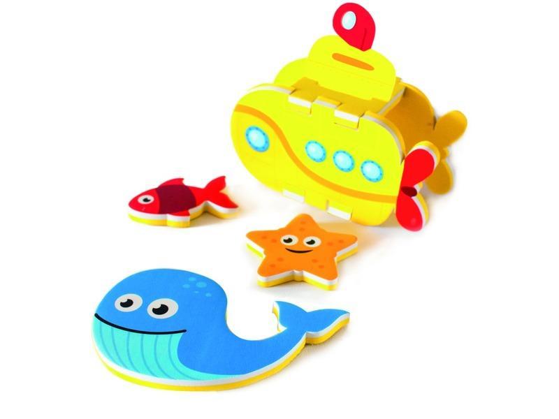 Meadow Kids Pěnová stavebnice do vany/bazénku Ponorka